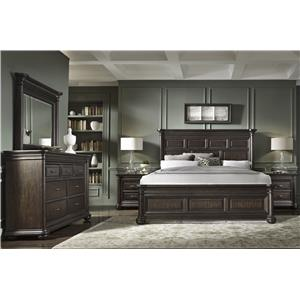 Samuel Lawrence Grand Manor Queen Bedroom Group