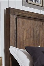 Framed Panel Detail on Headboard and Footboard