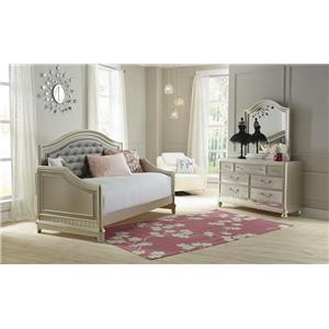 Samuel Lawrence Lil Diva Tufted Daybed w/ Trundle