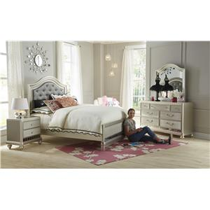 Samuel Lawrence Lil Diva 7 Drawer Dresser w/ Bun Feet