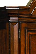 The Collection features Elegant Shaped Moldings.