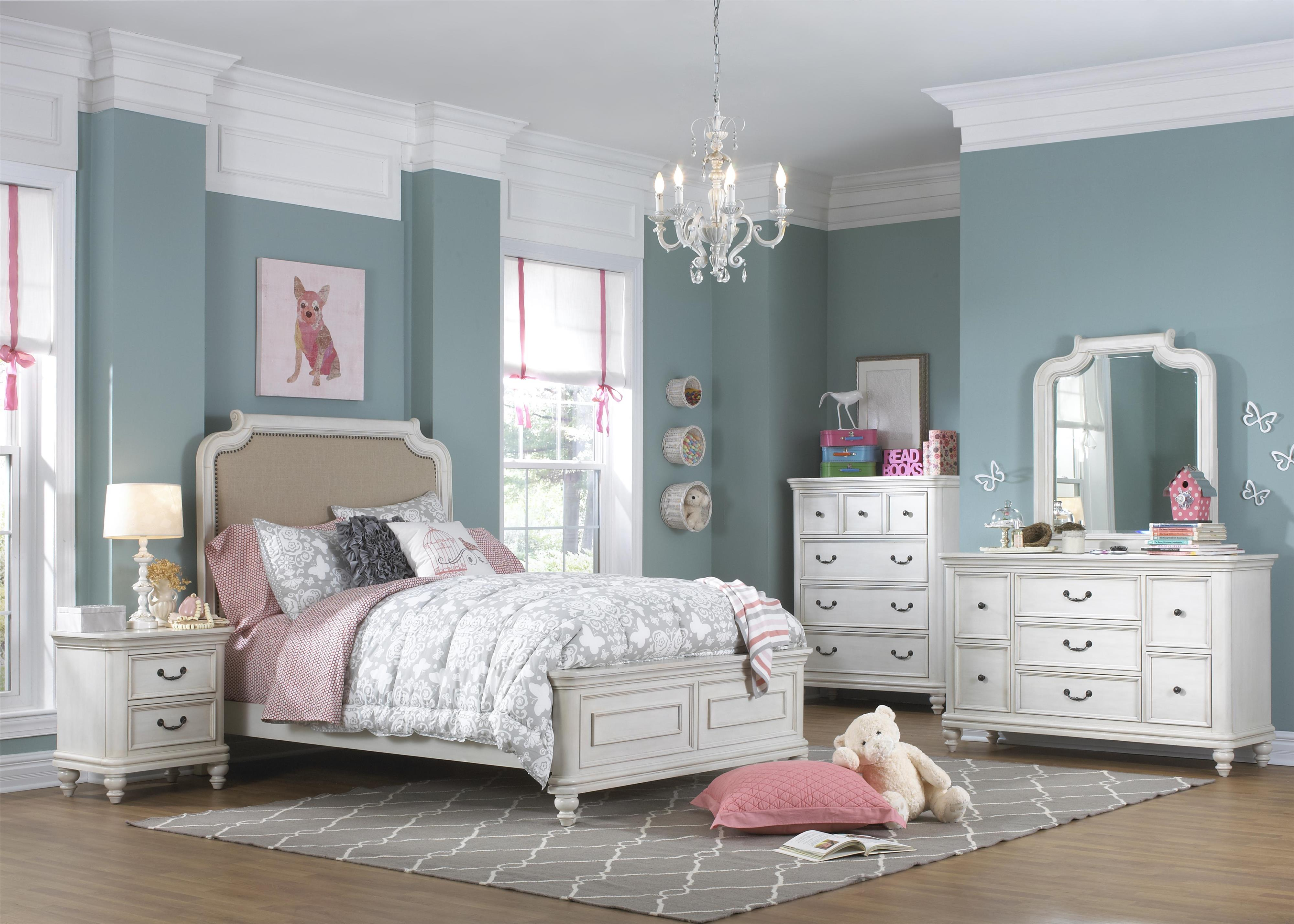 Kidz Gear Everly Full Bedroom Group - Item Number: 8890 F Bedroom Group 1