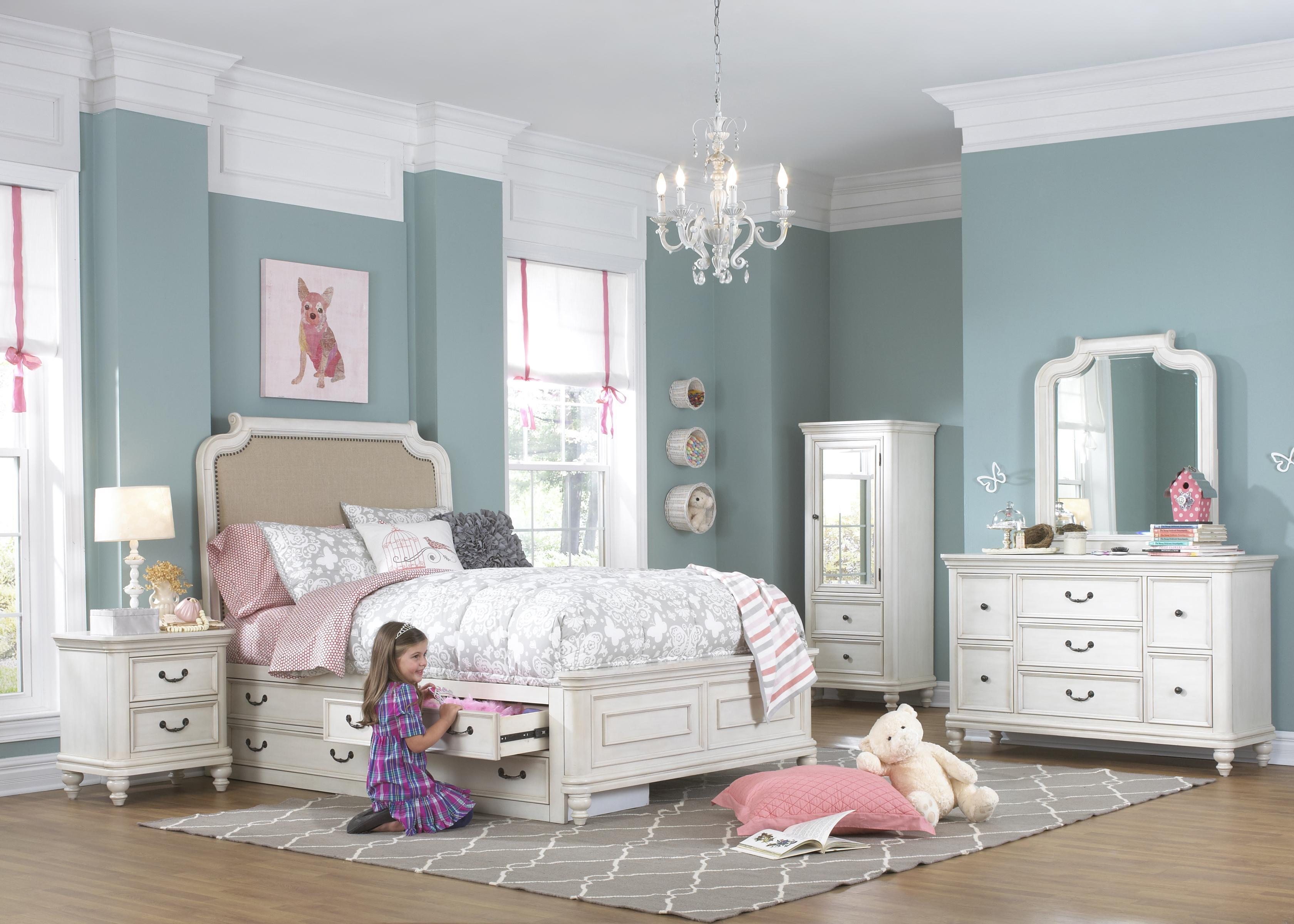 Kidz Gear Everly Full Bedroom Group - Item Number: 8890 F Bedroom Group 2