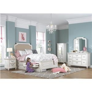 Kidz Gear Everly Full Bedroom Group