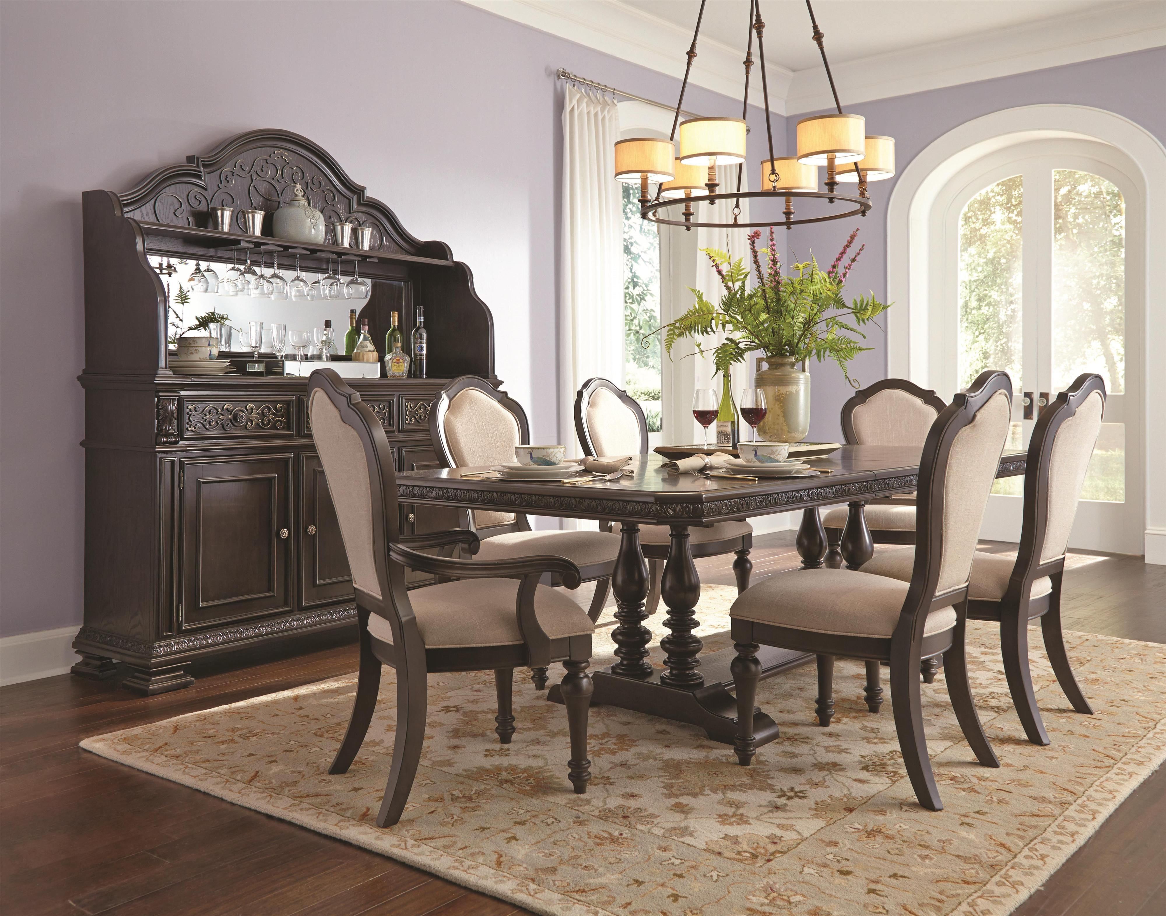 Samuel Lawrence Monarch Formal Dining Room Group - Item Number: 8794 Dining Room Group 2