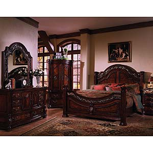 Samuel Lawrence San Marino King Bedroom Group