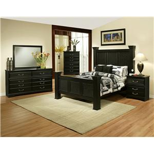 Sandberg Furniture Granada  King Bedroom Group