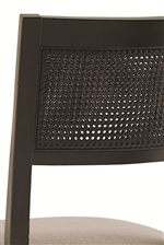 Cane Backrest on Side Chair