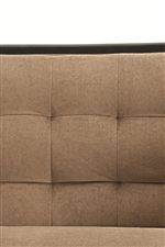 Bisque Tufted Seat Backs