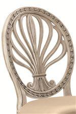 Fleur-de-lis Chair Backs