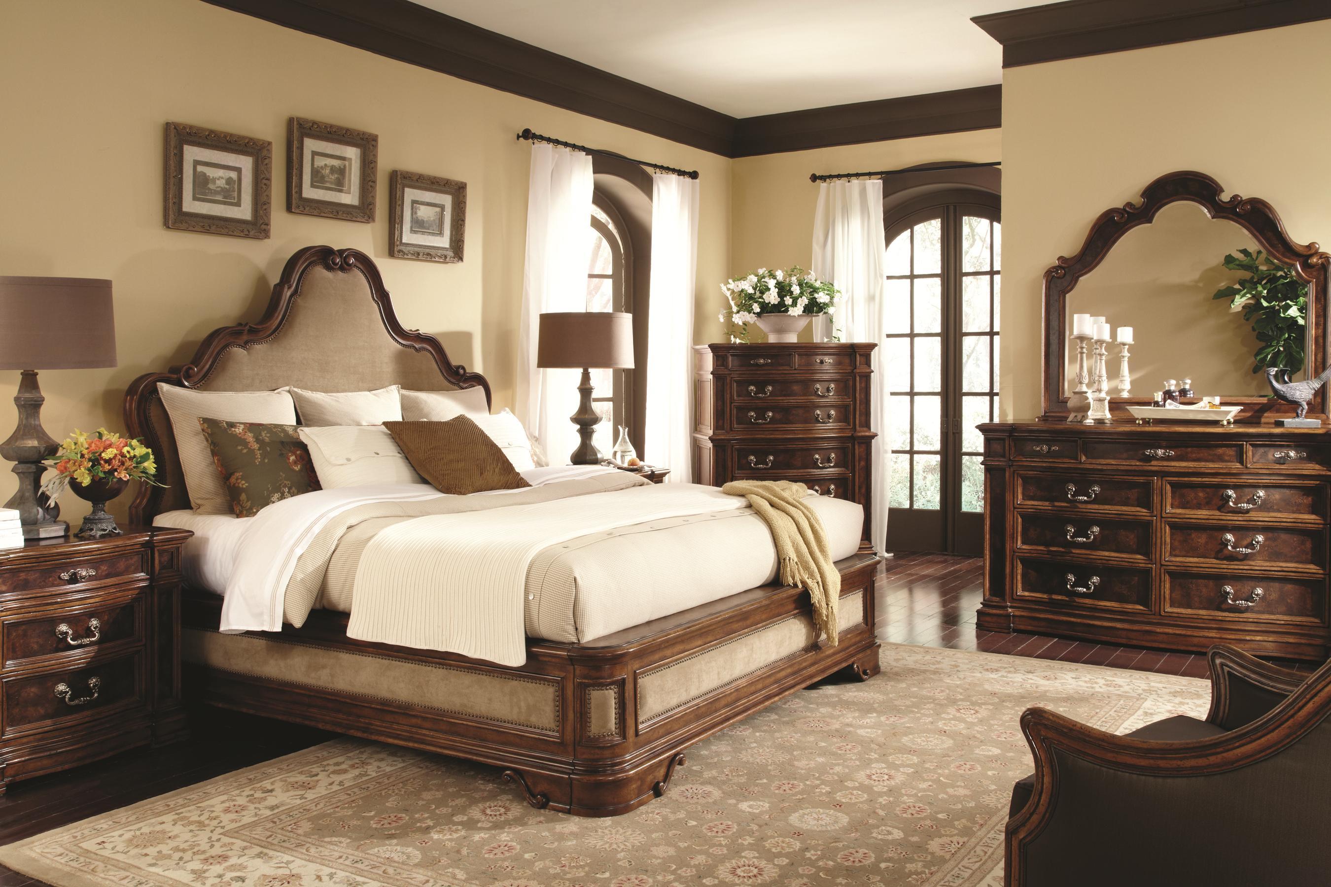 Schnadig Bedroom Furniture Schnadig Majorca 3 Drawer Nightstand With Mappa Burl Veneer Panels