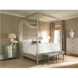 Schnadig Caracole - New Traditional King Bedroom Group