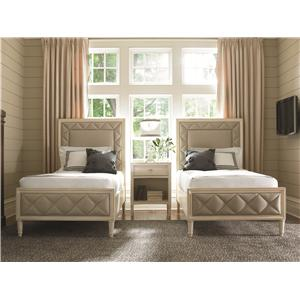 Schnadig Caracole - New Traditional Twin Bedroom Group