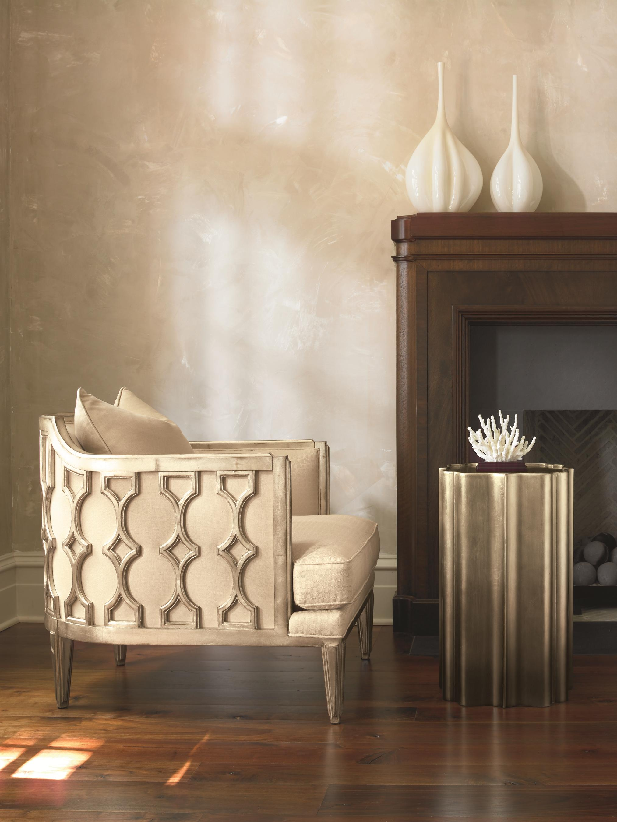 Schnadig Bedroom Furniture Schnadig Caracole New Traditional Gold Is Up Side Table
