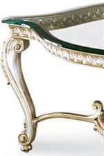 Carefully Proportioned Curved Legs Swoop with Elegance