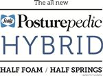 Sealy Posturepedic Hybrid Majesty H7 Twin Ultra Plush Tight Top Mattress and Foundation