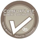 ComfortLast Supreme Construction Ensures Lasting Comfort and Durability