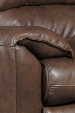 Plush Pillow Top Arms Are Perfect For The Casual Feel Of The Sofa