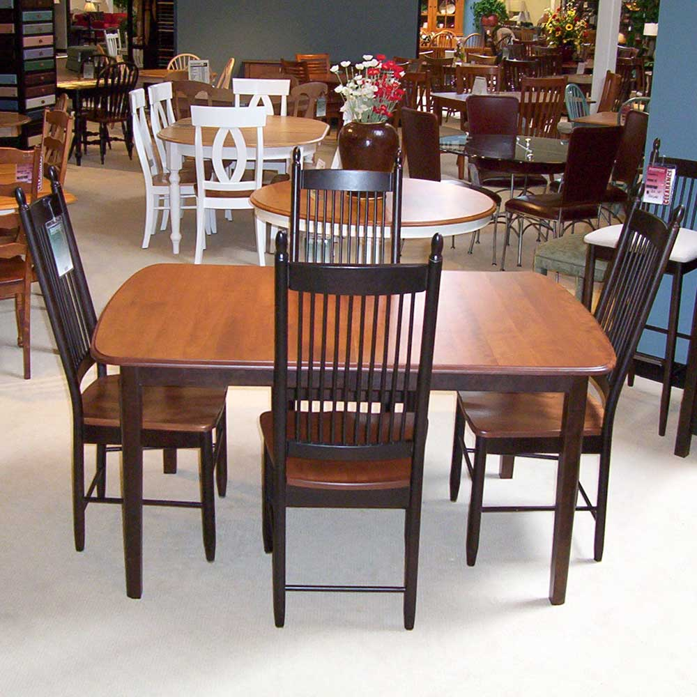 Superior Shermag Portfolio Oval Table With Chairs