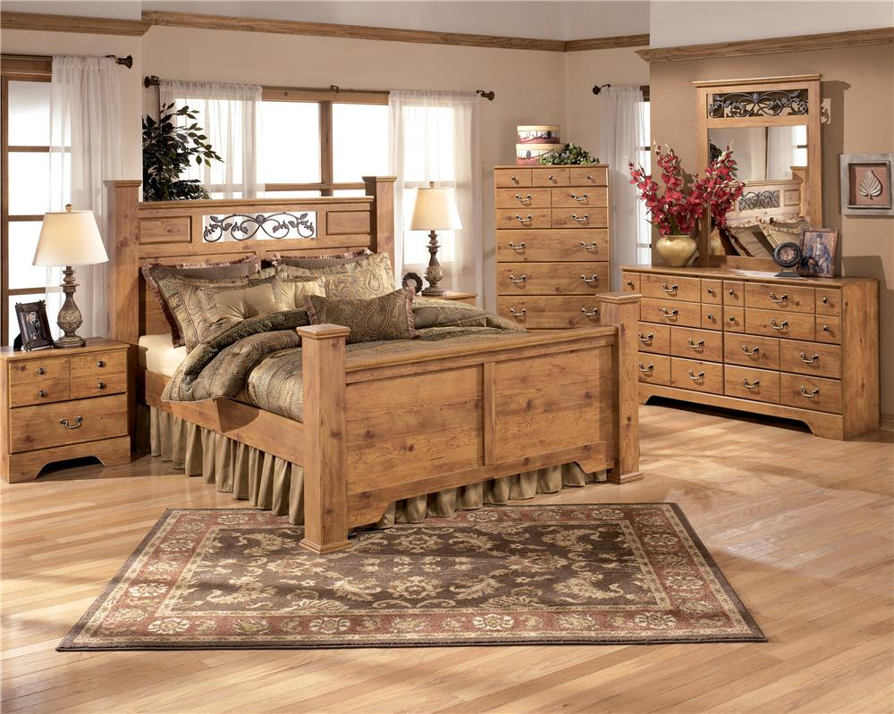 Signature Design by Ashley Bittersweet Queen Panel Bed | Wayside ...