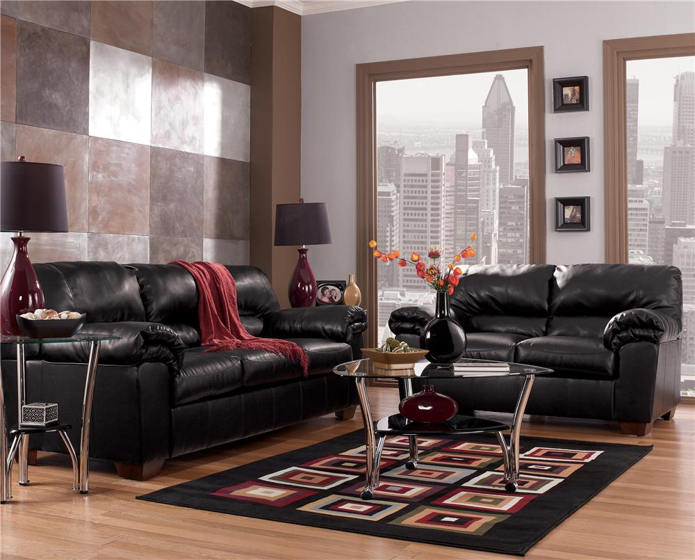 Signature Design By Ashley Commando Black Stationary Living Room Group Value City Furniture