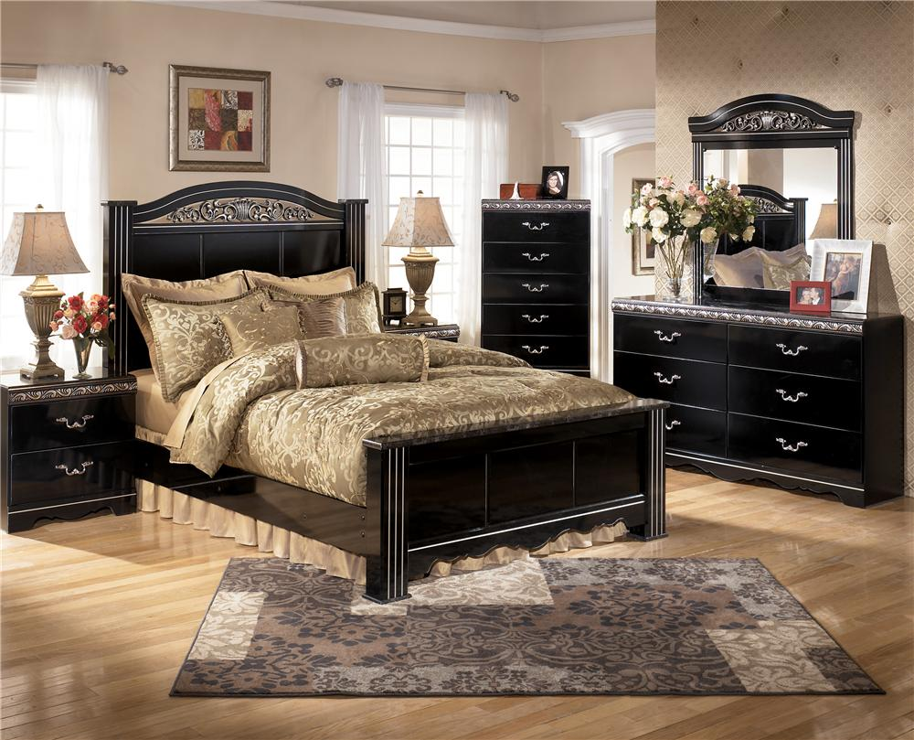 Signature Design by Ashley Constellations King Bedroom Group - Item Number: B104 K Bedroom Group 1
