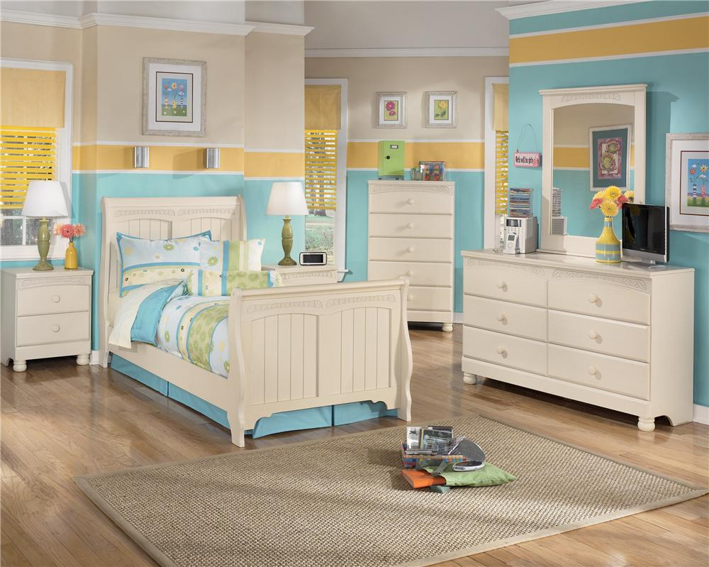 bedroom bassett pc vaughn poster cottage furniture set panel twin collection retreat featuring