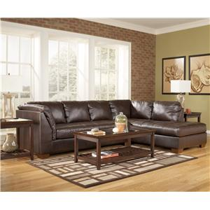 Signature Design by Ashley Fairplay DuraBlend® 2 Piece Sofa Sectional with Chaise