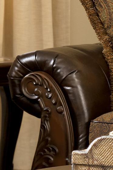 Peachy Fresco Durablend Antique 63100 By Signature Design By Creativecarmelina Interior Chair Design Creativecarmelinacom
