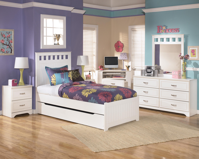 signature designashley lulu twin loft bed w/ loft drawer