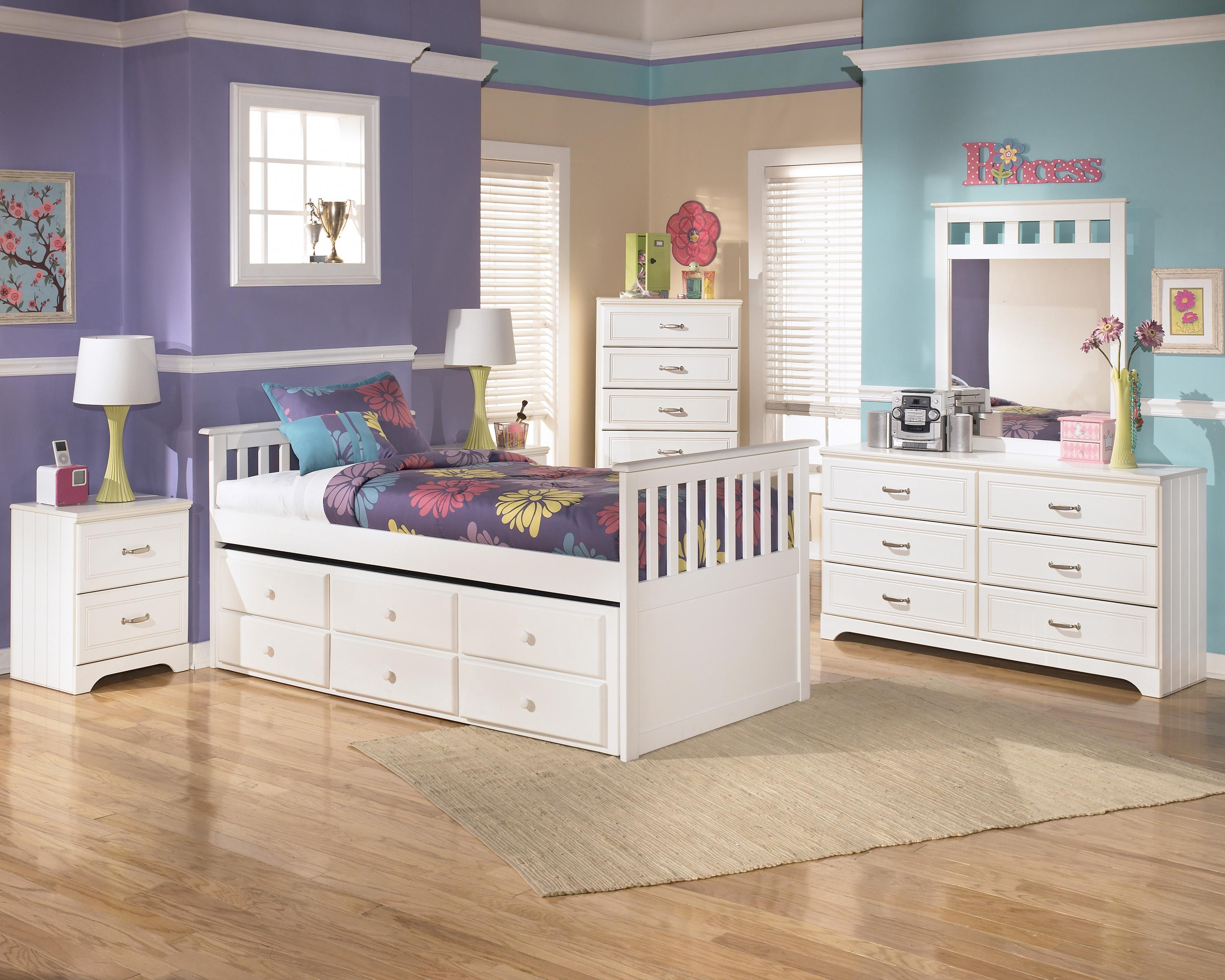 Signature Design by Ashley Lulu Twin Bedroom Group - Item Number: B102 T Bedroom Group 3
