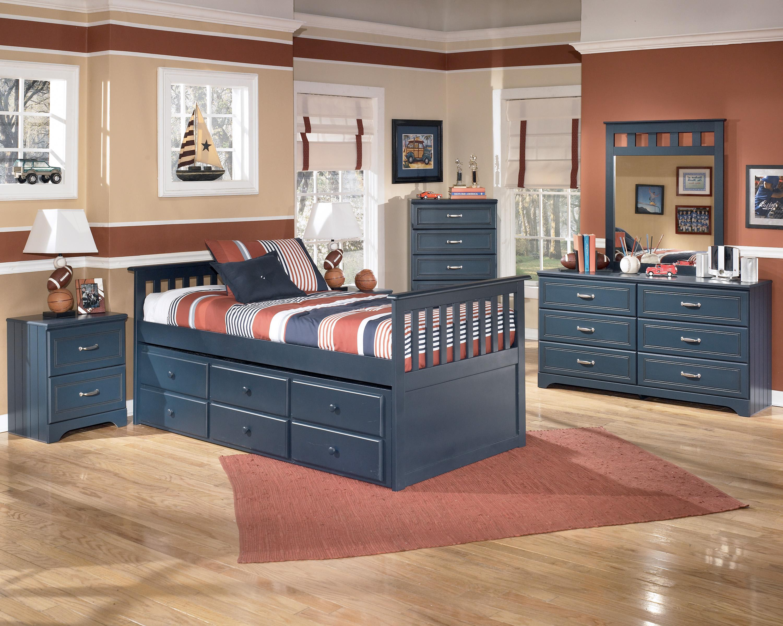 Signature Design by Ashley Leo Twin Bedroom Group - Item Number: B103 T Bedroom Group 3