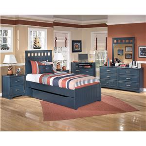 Signature Design by Ashley Leo Twin Bedroom Group