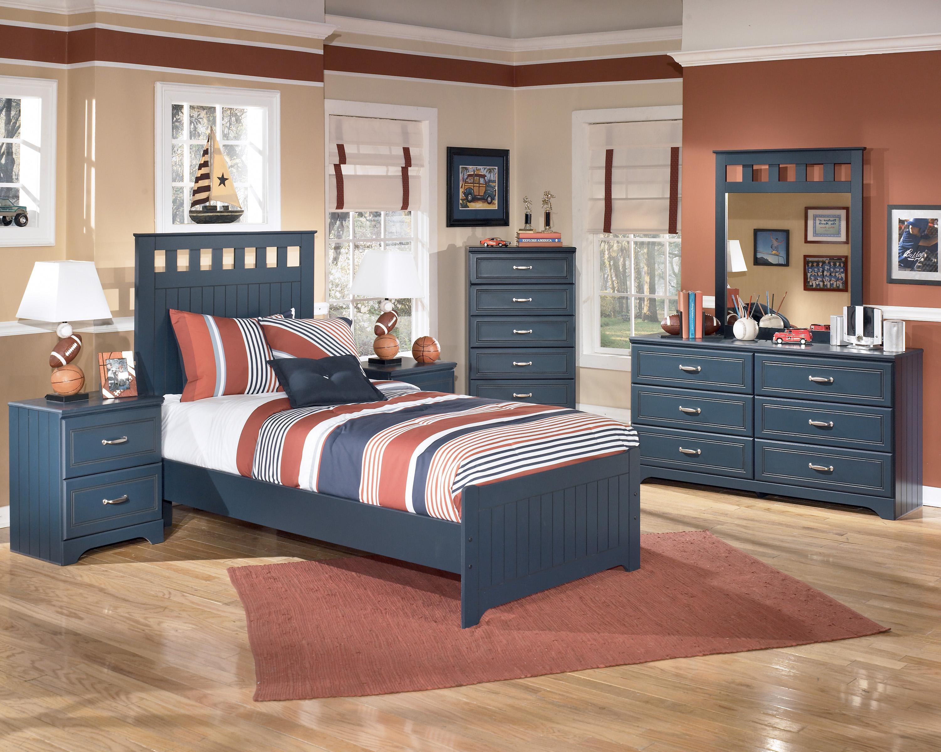 Signature Design By Ashley Leo Twin Bedroom Group Becker Furniture