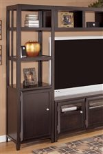 Open Storage Tiers and TV Stand