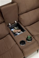 Ordinaire Storage Options Of Love Seat Center Console