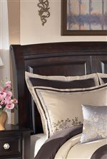 Contemporary Curved Sleigh Headboard