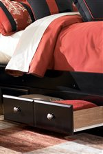 Underbed Drawers of Storage Bed