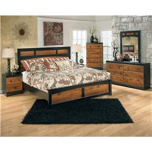 Signature Design by Ashley Aimwell Two-Tone Finish Dresser with 6 Drawers