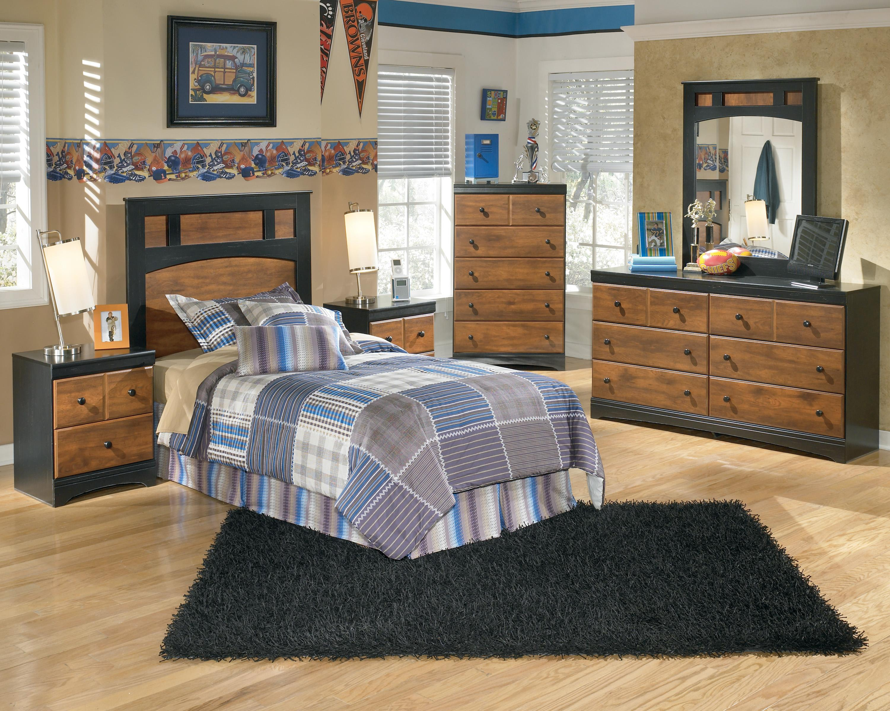 Signature Design by Ashley Aimwell Twin Bedroom Group - Item Number: B136 T Bedroom Group 1