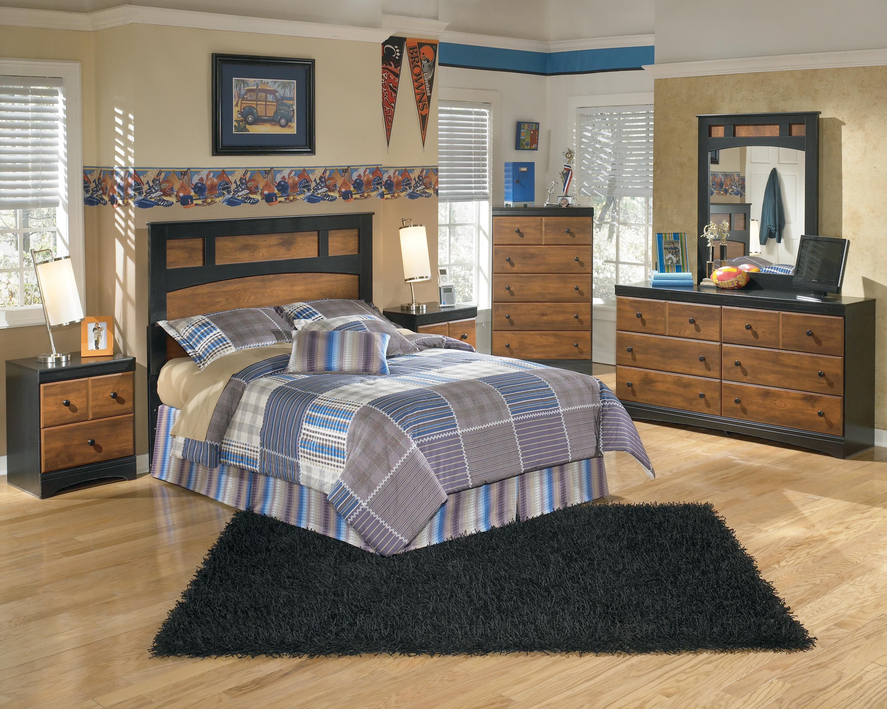 Signature Design by Ashley Aimwell Full Bedroom Group - Item Number: B136 F Bedroom Group 1