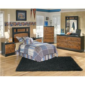 Ashley (Signature Design) Aimwell Twin Bedroom Group