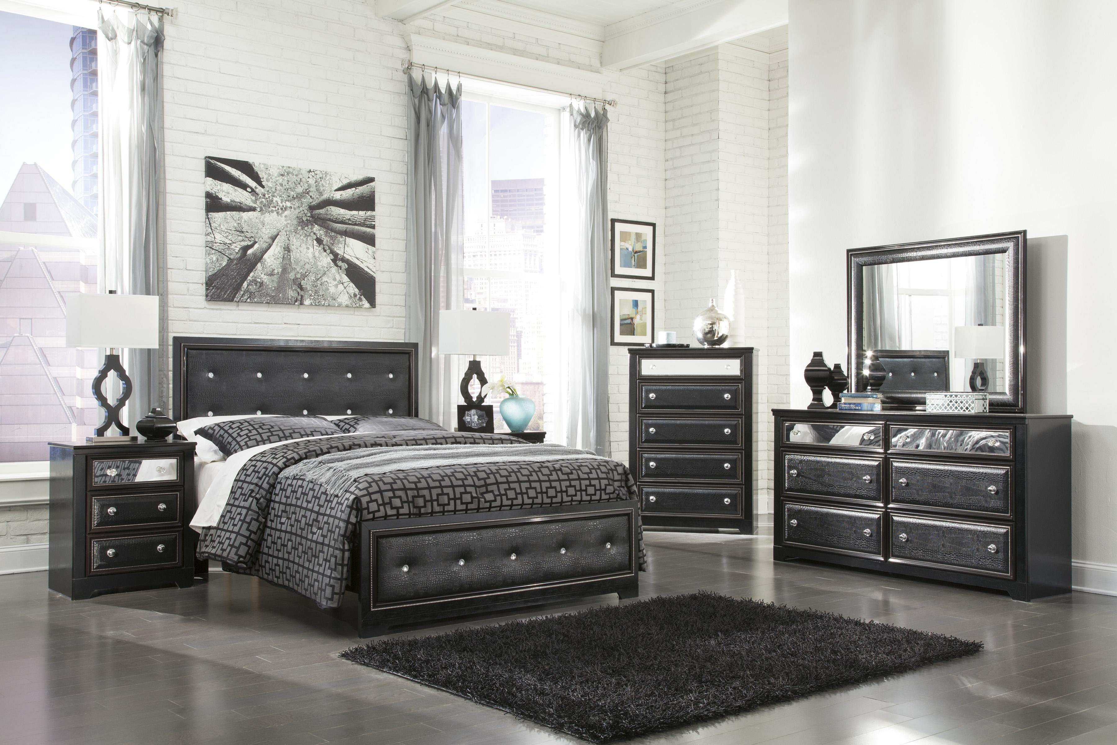 Signature Design by Ashley Alamadyre Queen Bedroom Group - Item Number: B364 Q Bedroom Group 1
