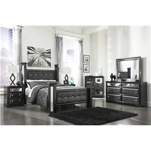 Signature Design by Ashley Furniture Alamadyre King Bedroom Group