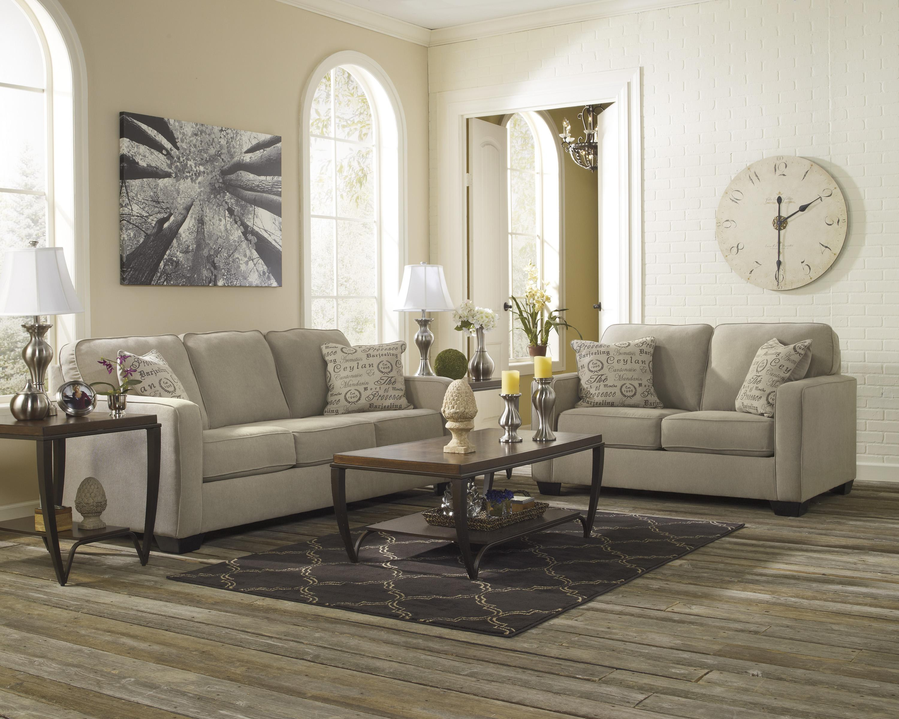 Alenya - Quartz Stationary Living Room Group at Van Hill Furniture