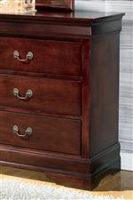 Louis Philippe Style Bedroom Storage Pieces