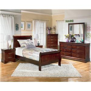Signature Design by Ashley Alisdair 5 Piece Twin Bedroom Group