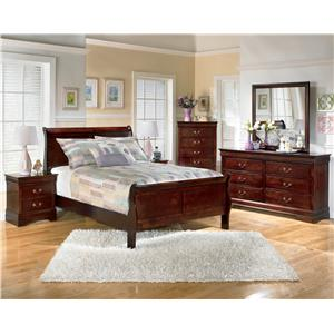 5 Piece Full Bedroom Group