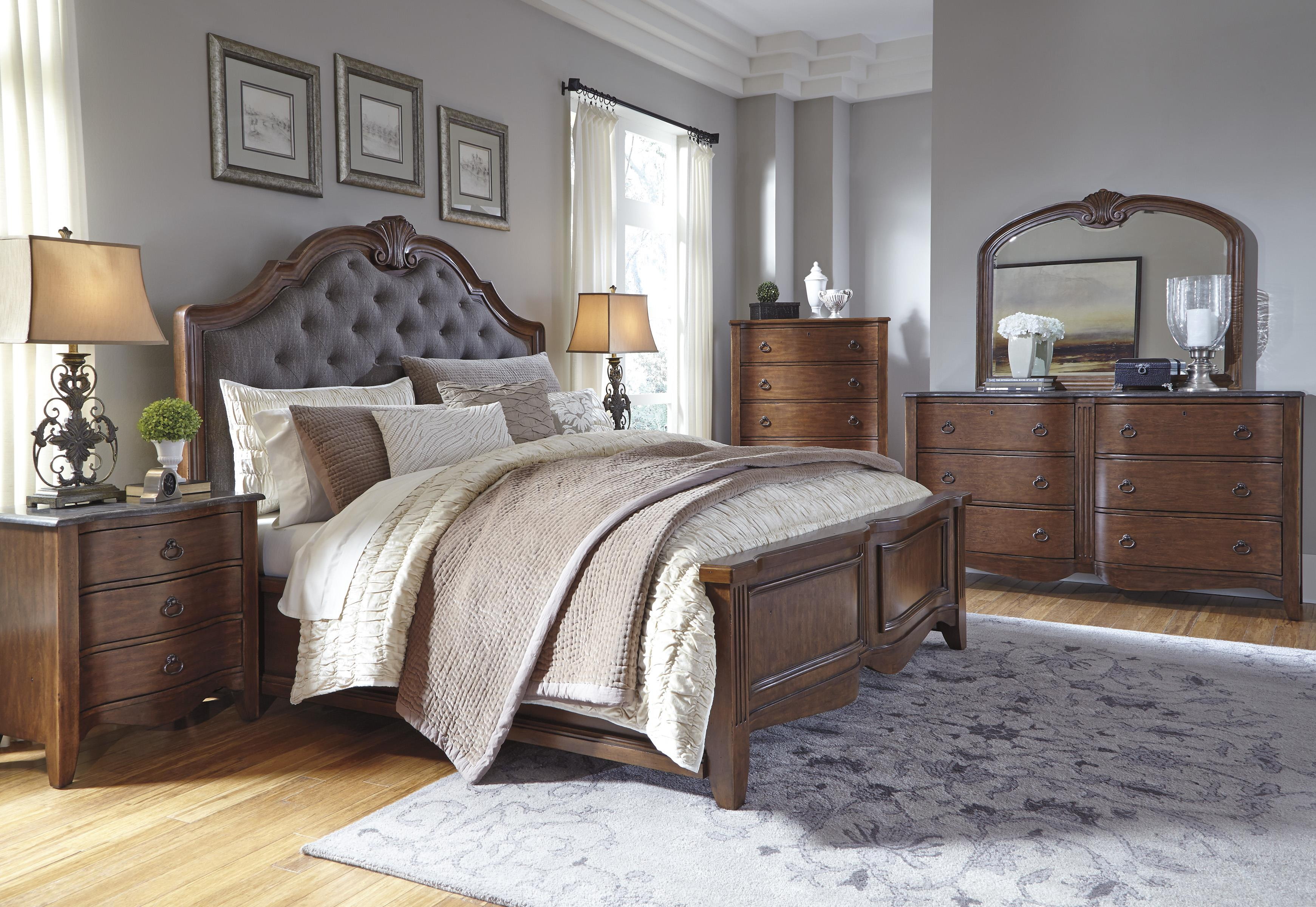 Signature Design by Ashley Balinder King Bedroom Group - Item Number: B708 K Bedroom Group 1