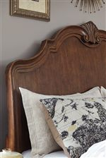 Signature Design by Ashley Balinder Transitional California King Bed with Shaped Sleigh Headboard and Low-Profile Footboard